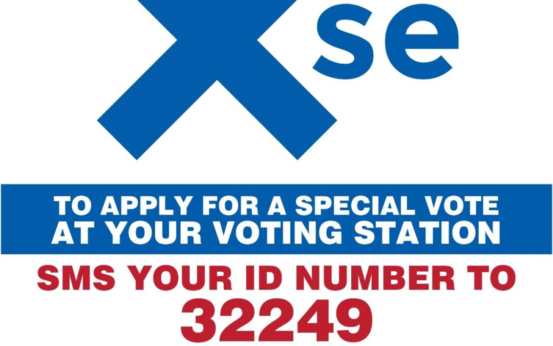 Special Vote Applications Open