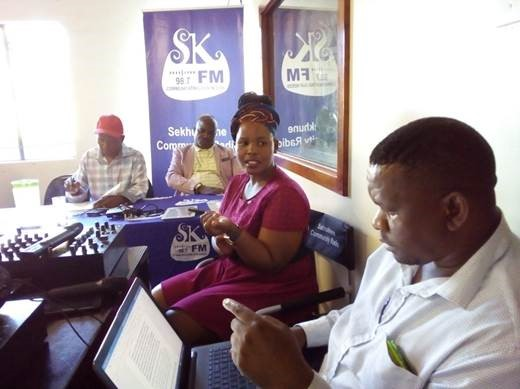 Water shortages take centre stage at the Sekhukhune elections debate