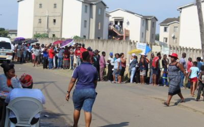 Unsettling tensions in KwaMashu and uMlazi on voting day