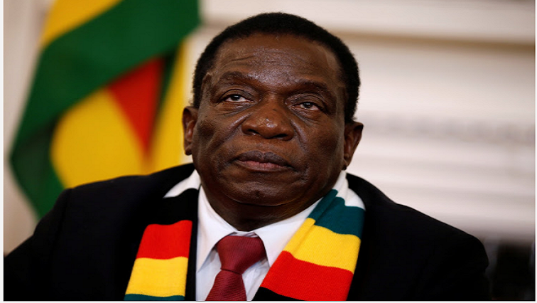 Mnangagwa's regime has denied claims of human rights abuses, describing them as the work of those bent on tarnishing the country's image. Pic: Reuters