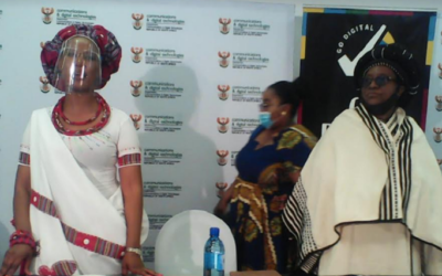 Ndabeni-Abrahams takes technology to Limpopo's rural districts