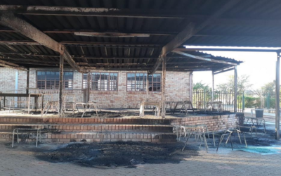 Government slams torching of four North West schools