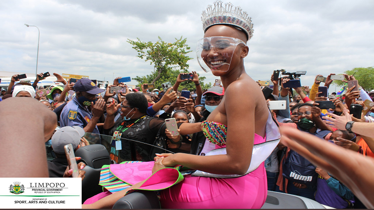 I am thankful my grandfather allowed me to dream, Miss SA tells homecoming party