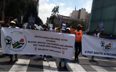 There shall be no peace in SA as long as foreigners are here, vows PutSouth AfricansFirst leader