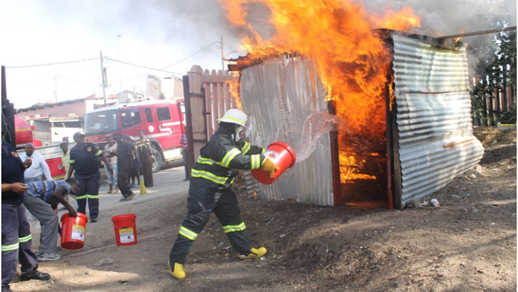 Two burnt beyond recognition in Alexandra fire