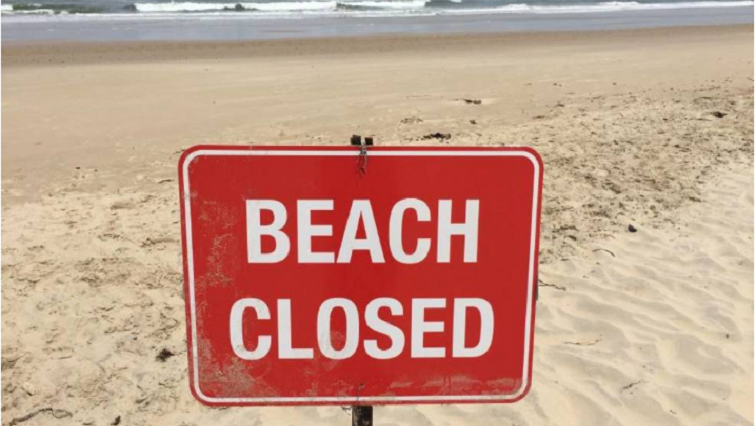 High stakes showdown over closure of beaches rages on