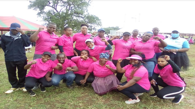 Serare village hikers in bid to educate community about GBV
