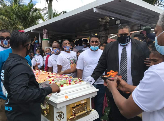 Teddy Mafia given a funeral fit for a king
