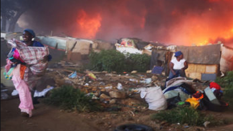 Human settlements department promises emergency housing grants to Booysens fire victims