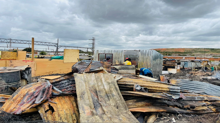 Booysens fire victims moved to community centre