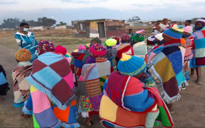 Blanket knitting initiative puts young Sasolburg boy on a national stage
