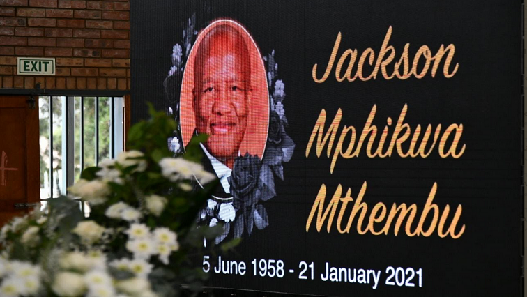 Ackerville bids final goodbye to Mthembu